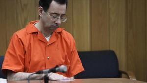 Larry Nassar, durante el último juicio.