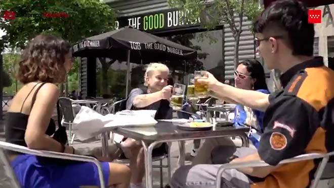 'Libertad-responsabilidad'. Vídeo de la Comunidad de Madrid sobre el desconfinamiento.