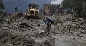 Fuertes lluvias han causado deslaves e inundaciones en varias regiones de Bolivia.
