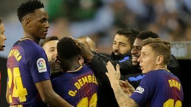 Las claves tácticas del Celta-Barça: todo el dinero está en el campo