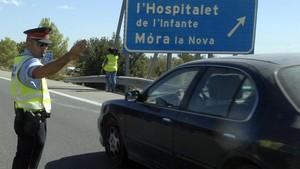 Los Mossos cumplen 20 años ejerciendo las competencias de tráfico