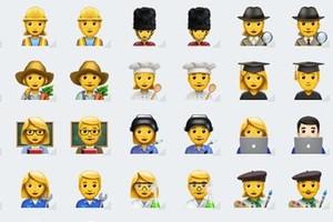 Los nuevos emoticonos promulgan la igualdad en el ámbito profesional.