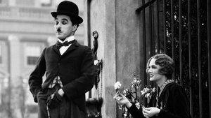 Un fotograma de Luces de la ciudad, una obra maestra de Chaplin.