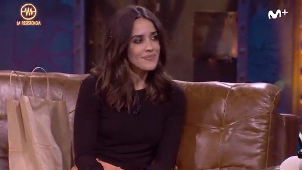 """Macarena García revela a David Broncano su incontinencia en una función: """"Me hice pis de la risa"""""""