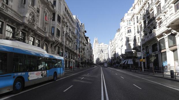 Madrid limitará a 30 km/h las calles de un carril por sentido o único carril.