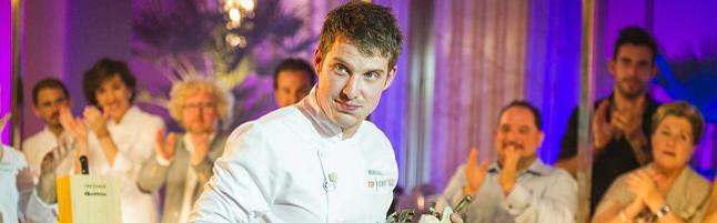 Marcel, el ganador de la tercera temporada de Top Chef.