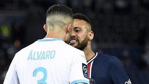 «No existeix lloc per al racisme, de vegades s'ha de saber perdre», diu Álvaro a Neymar