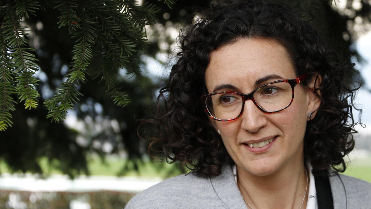 Marta Rovira habla sobre su marcha de Catalunya.
