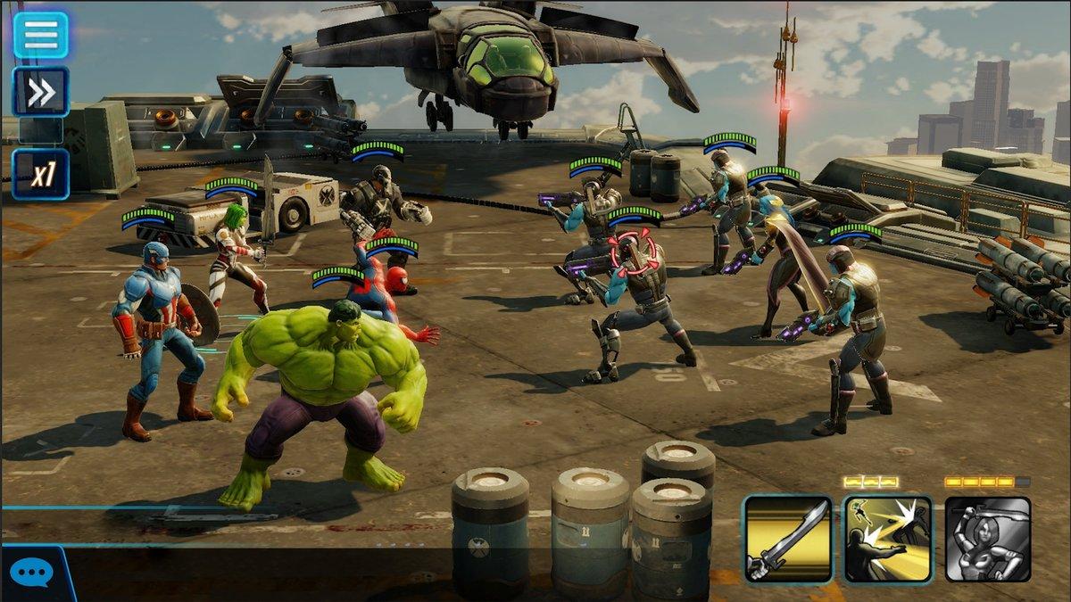 Marvel Strike Force.