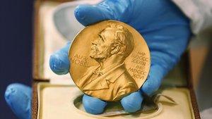 Medalla de oro del Premio Nobel.