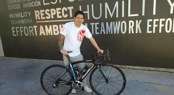 Messi ya tiene bicicleta para correr el Tour