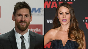 Messi, el latino mejor pagado, y Sofía Vergara, la tercera.