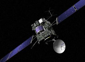 La nau 'Rosetta', en una imatge de l'ESA.