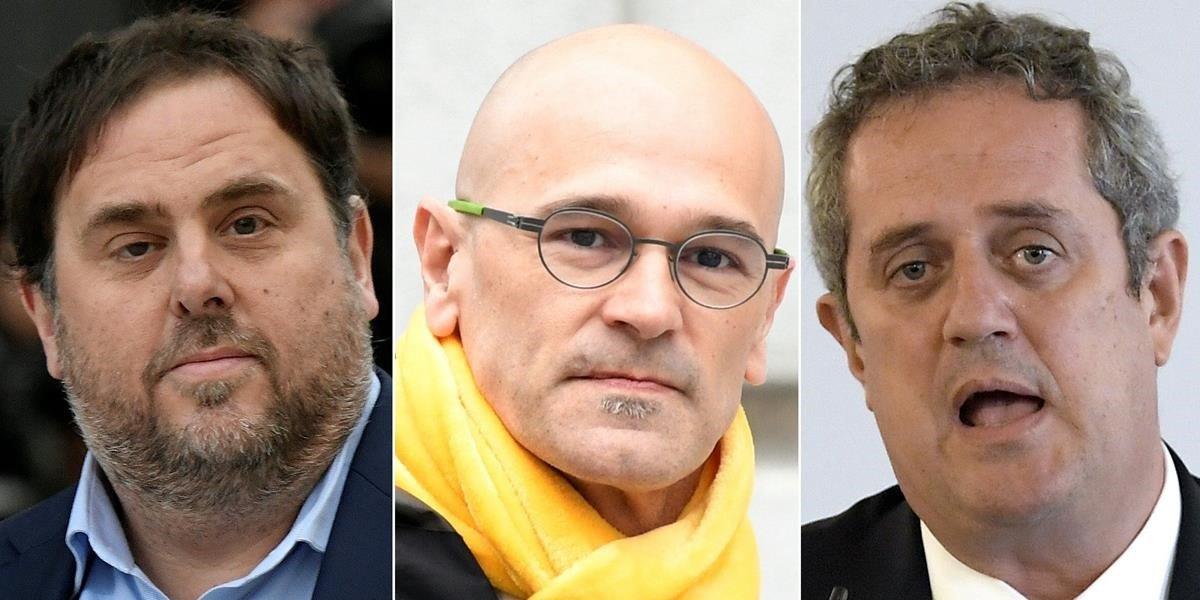 Oriol Junqueras, Raül Romeva y Joaquim Forn.