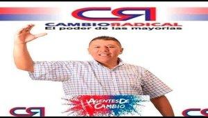 Oscar Lombana, candidato político secuestrado en Colombia.