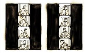 Página del cómic Cortázar, de Jesús Marchamalo y Marc Torices.