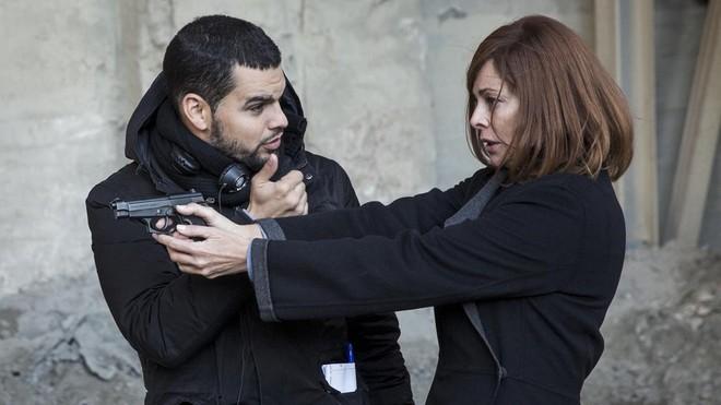 David Victori y Belén Rueda.