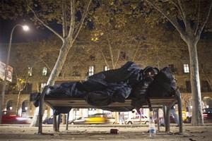 La pobresa a Barcelona, una de les fotografies de l'especial multimèdia d'EL PERIÓDICO.