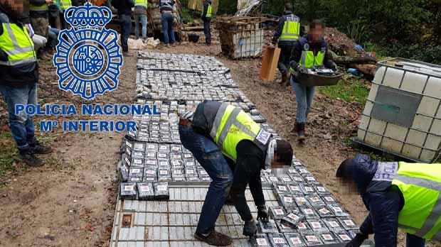 Estaba dedicada al tráfico internacional de droga.