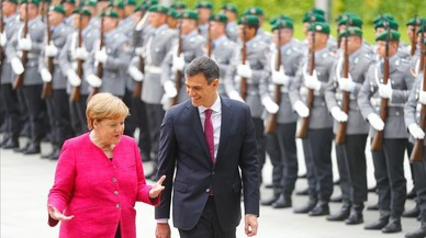 Capitán Aquarius al rescate de Merkel