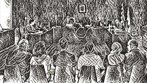 La privatización de la justicia, por Jordi Nieva-Fenoll, dibujo de Conte.