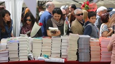 El efecto lunes puede potenciar las ventas en Sant Jordi