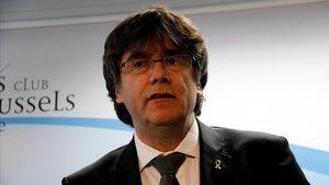 Puigdemont, este jueves 2 de mayo en Bruselas