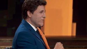 """Raúl Pérez y su doble imitación de Casado y Rivera en 'Late motiv': """"Albert es mi media naranja"""""""