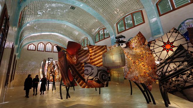 El Recinte Modernista de Sant Pau, inagura el museo de Domènech i Montaner.