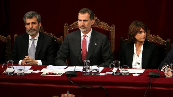 El Rei: «El respecte a les resolucions judicials és indispensable en democràcia»