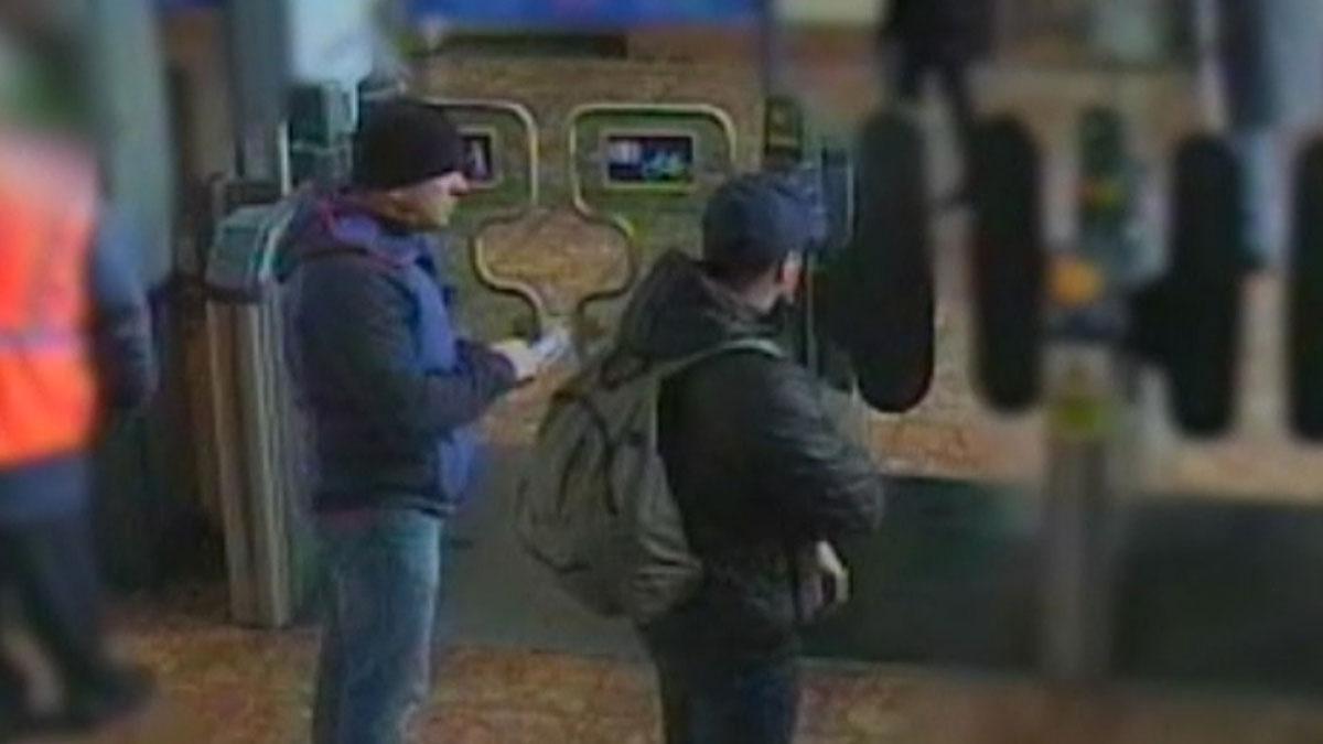 Scotland Yard publica nuevos vídeos de los sospechosos del envenenamiento de Skripal.