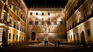 La sede central del Monte dei Paschi.
