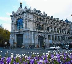Sede del Banco de España, en la calle de Alcalá, de Madrid.