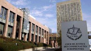 La sede del Tribunal de Justicia de la Unión Europea.