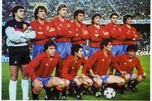 Selección española de 1983-84.