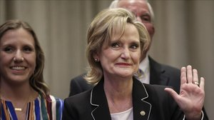 La senadora republicana Cindy Hyde-Smith.