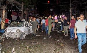 Un ataque aéreo en Siria. AFP