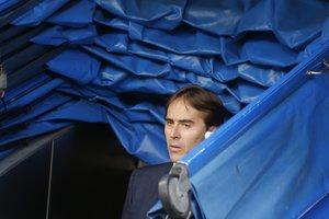 Julen Lopetegui, en la previa del Real Madrid-Levante.