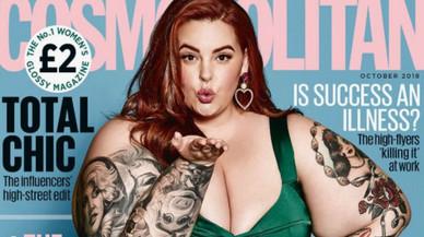 Tess Holliday deslumbra en la portada de 'Cosmopolitan'