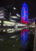 La Torre Glòries, sede que el ayuntamiento propone para la Agencia Europea del Medicamento si recae en Barcelona.
