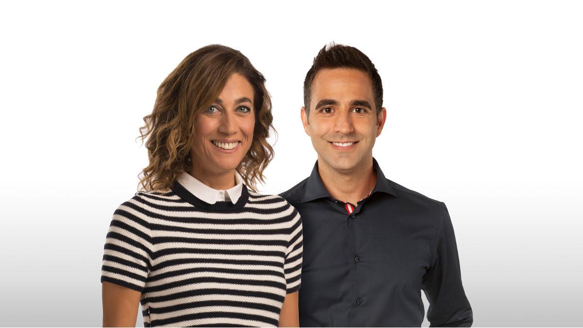 Helena Garcia Melero y Francesc Sòria presentarán en TV-3 el magacín matinal Tot es mou.