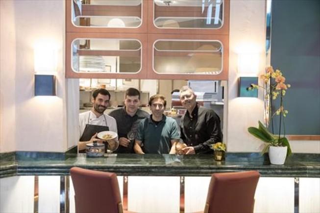 De izquierda a derecha, Javier Méndez, Iván Castro, Manel Arjó y Jorge Guerrero.
