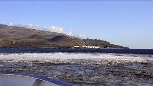 Una playa de la isla de El Hierro.