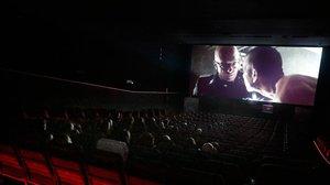 Una sala del Cinebaix de Sant Feliu de Llobregat.