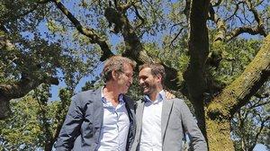 La crisi a Euskadi revela el pols entre Feijóo i Casado