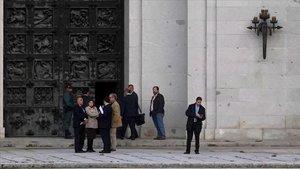 Cimera al Valle de los Caídos per exhumar Franco