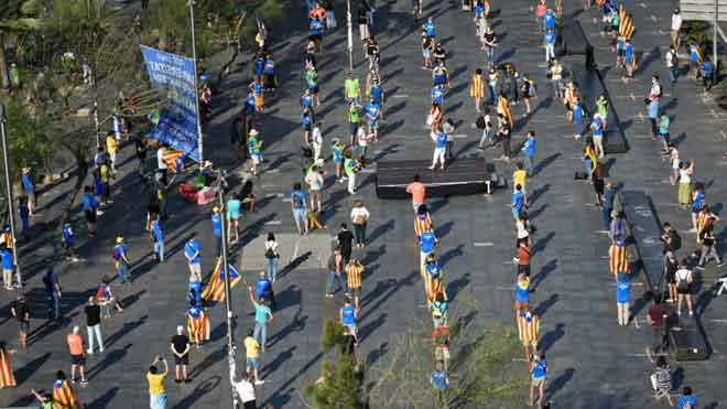 Diada 2020: Actes a Barcelona i resta de Catalunya | Últimes notícies en DIRECTE