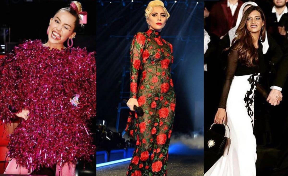 9fdd93feb Las  celebrities  lucen vestidos españoles