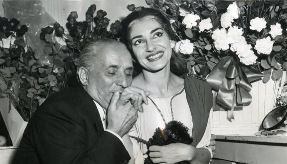 Maria contra Callas: habla la diva en primera persona