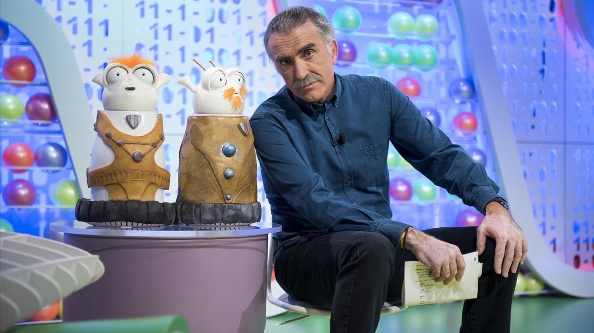 El presentador y productor andaluz Juan yMedio.